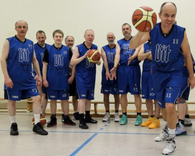 Basketball Gruppe